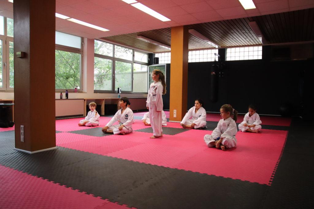 Kinder Taekwon-Do im Black Bear Gym